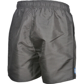 arena Yarn Dyed Pl Check Boxer Hombre, black-white